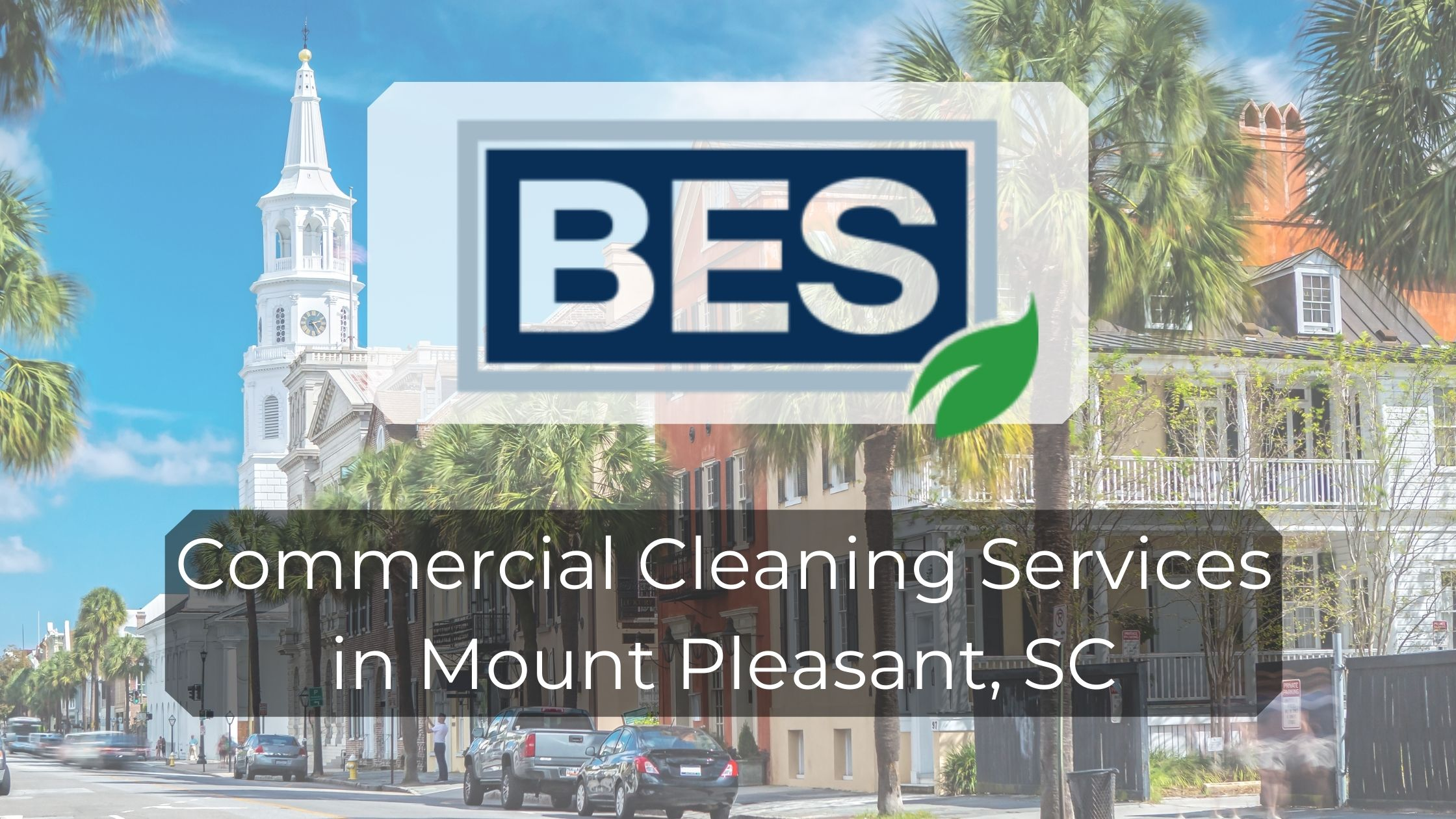 commercial cleaning in Mount Pleasant, SC
